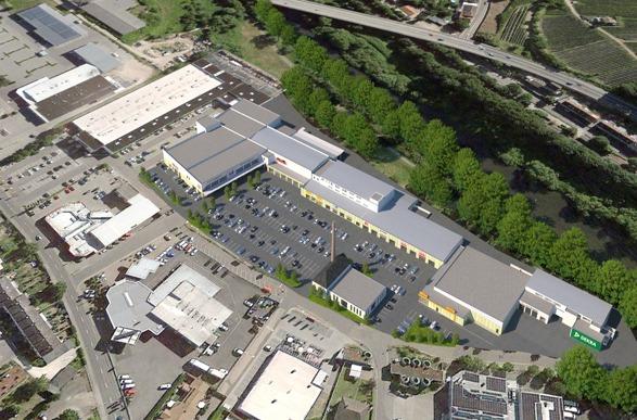 INTERRA Immobilien AG Düsseldorf, Fachmarktzentrum Bingen