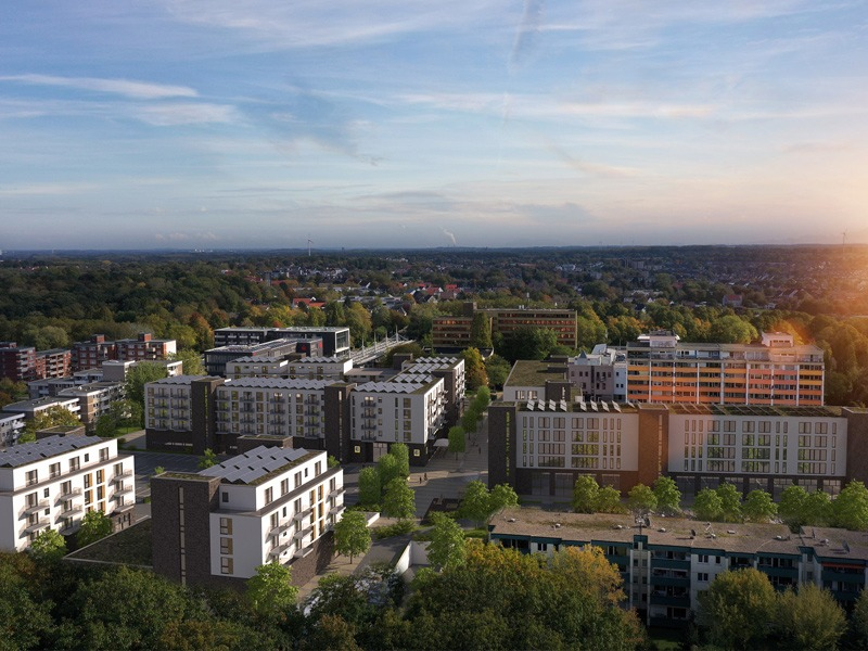 INTERRA Immobilien AG Düsseldorf, Berg-Karree